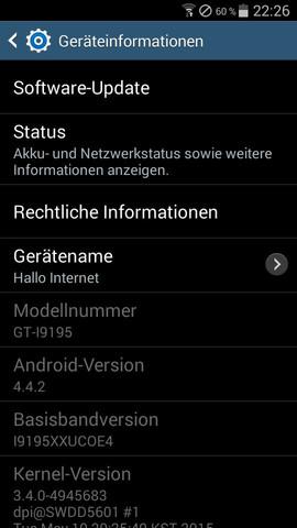Screenshot - (Handy, Empfang, Signal)
