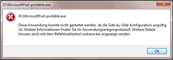 Immer wenn ich drauf klicke kommt diese Meldung. Habe Windows 7 - (Internet, Windows, Explorer)