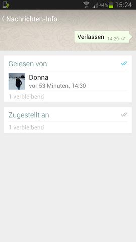 Den Gelesen-Status auf dem iPhone abschalten
