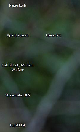keine Desktopsymbole mehr?