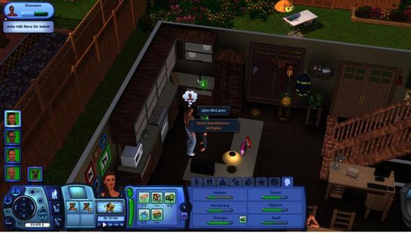 Keine interaktion verfügbar?! - (Sims 3, Bug)