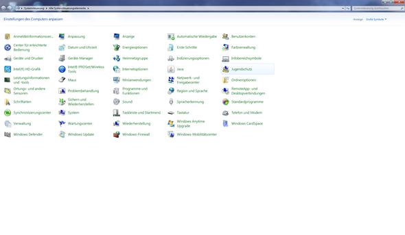 Da ist Nichts von wegen Nvidia systemsteuerung - (Windows 7, Nvidia, Systemsteuerung)