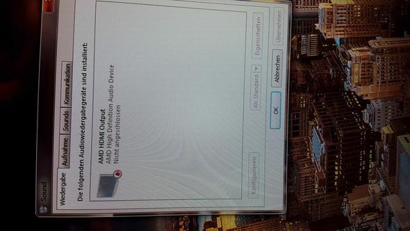 Wiedergabe Ausgang - (PC, Windows, Grafikkarte)