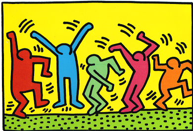 Keith Haring Bilder