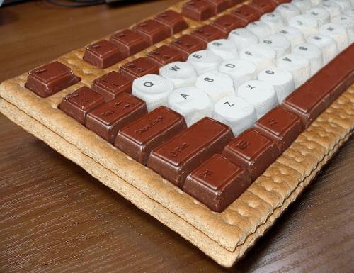 keks tastatur f r freund wie kann ich das selbst machen. Black Bedroom Furniture Sets. Home Design Ideas