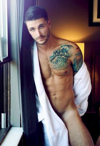 Model - (Männer, Fitness, Tattoo)