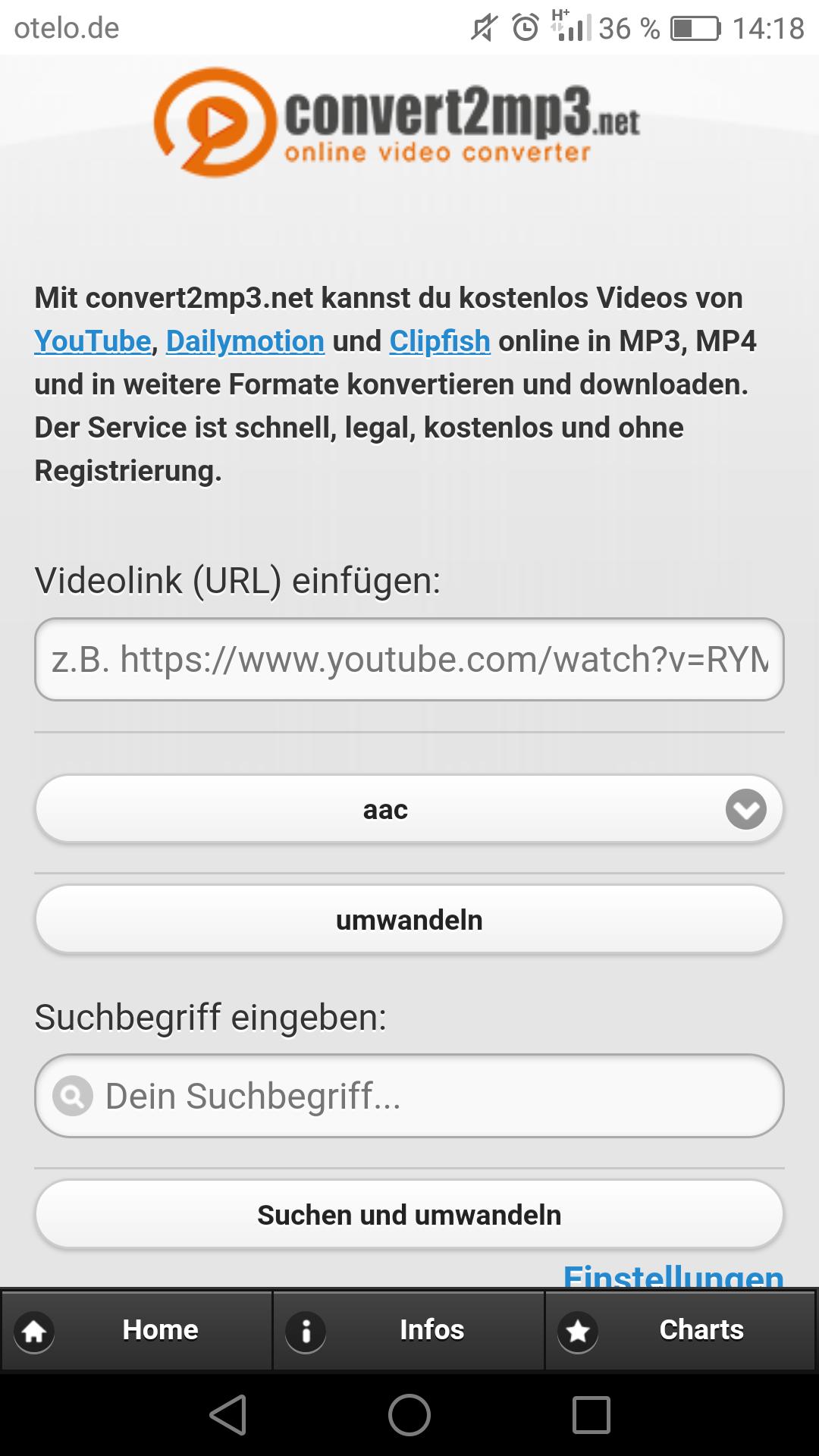 youtube download seite