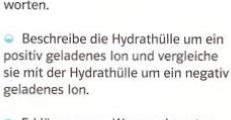 Kennt ihr euch mit Ionen aus (Chemie,hydrathülle..)?
