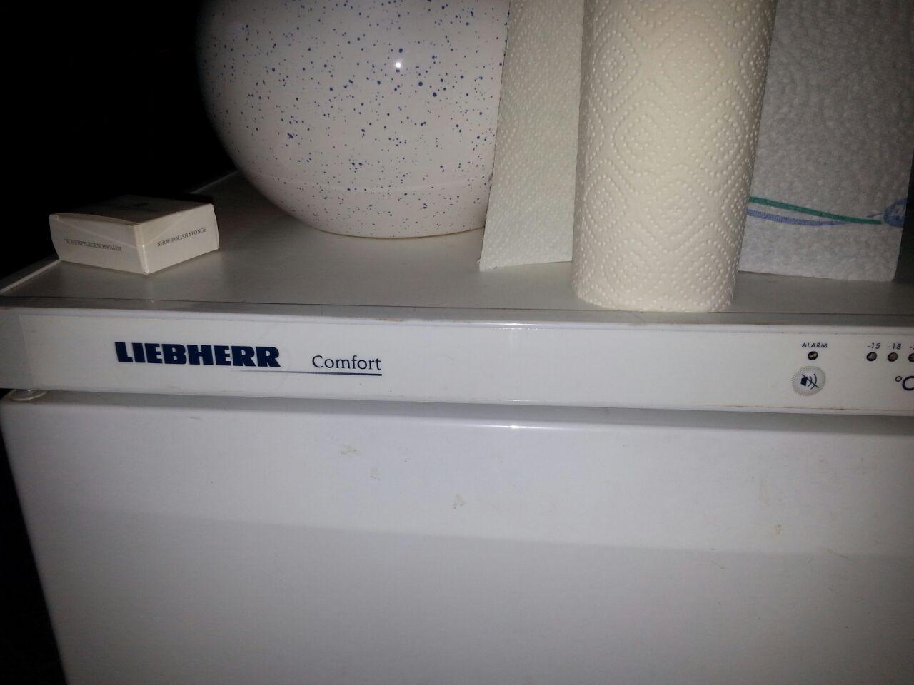 Kennt jemand auf den Foto diesen Gefrierschrank von Liebherr ...