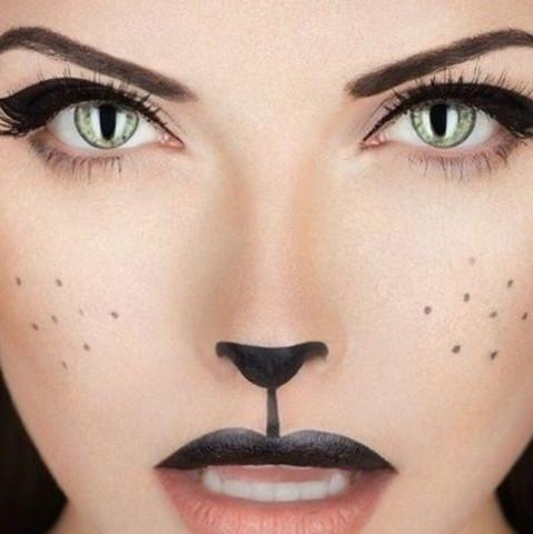 Das habe ich auf Pinterest gefunden  - (Beauty, Make-Up, Model)
