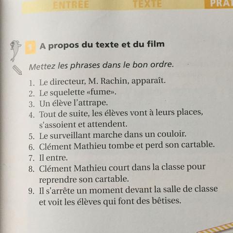 Kennt Jemand Den Film Les Choristes Gut Und Kann Französisch übungen