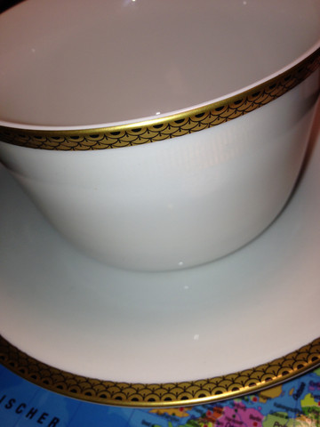 Suppenteller mit Muster - (essen, Kaffee, Service)