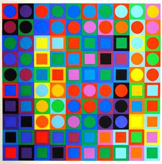 Victor Vasarely - (Bilder, Kunst, Titel)