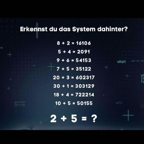 Das ist die Aufgabe.  - (Mathe, Mathematik, Aufgabe)