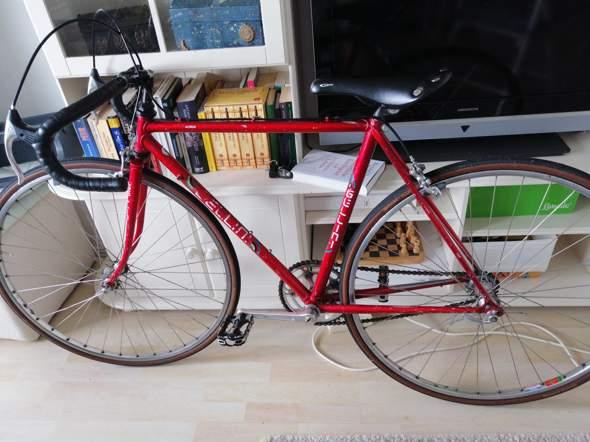 """Kennt jemand die Rennrad/Fahrrad Marke """"Gellini""""?"""