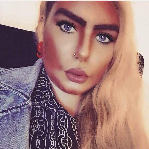 selfie2 - (instagram, Make-up Name)
