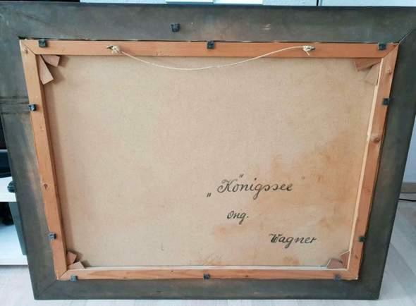 Kennt jemand diese Signatur/ kann mir helfen den richtigen Wagner zu ermitteln?