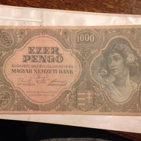 Vorne :) - (Geld, Sammler, Geldschein)