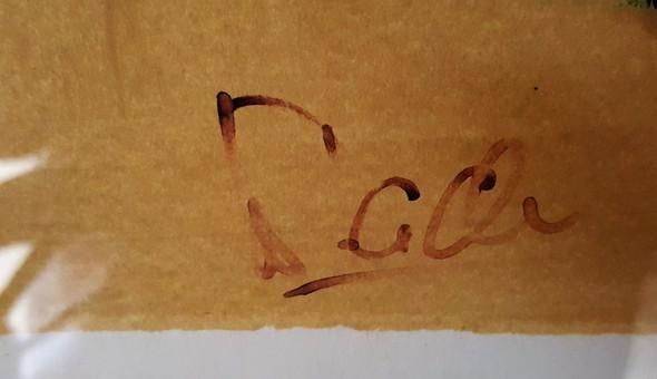 Künstlersignatur - (Künstler, Gemälde, Signatur)