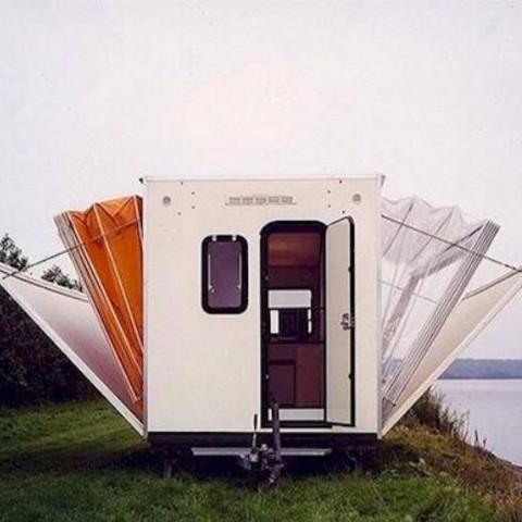 Wohnwagen  - (Modell, Wohnwagen)