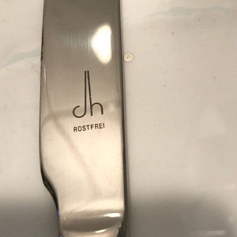 Kennt jemand dieses Logo?  - (Messer, Logo, Besteck)