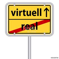 Virtuell - (Internet, Onlinespiele)