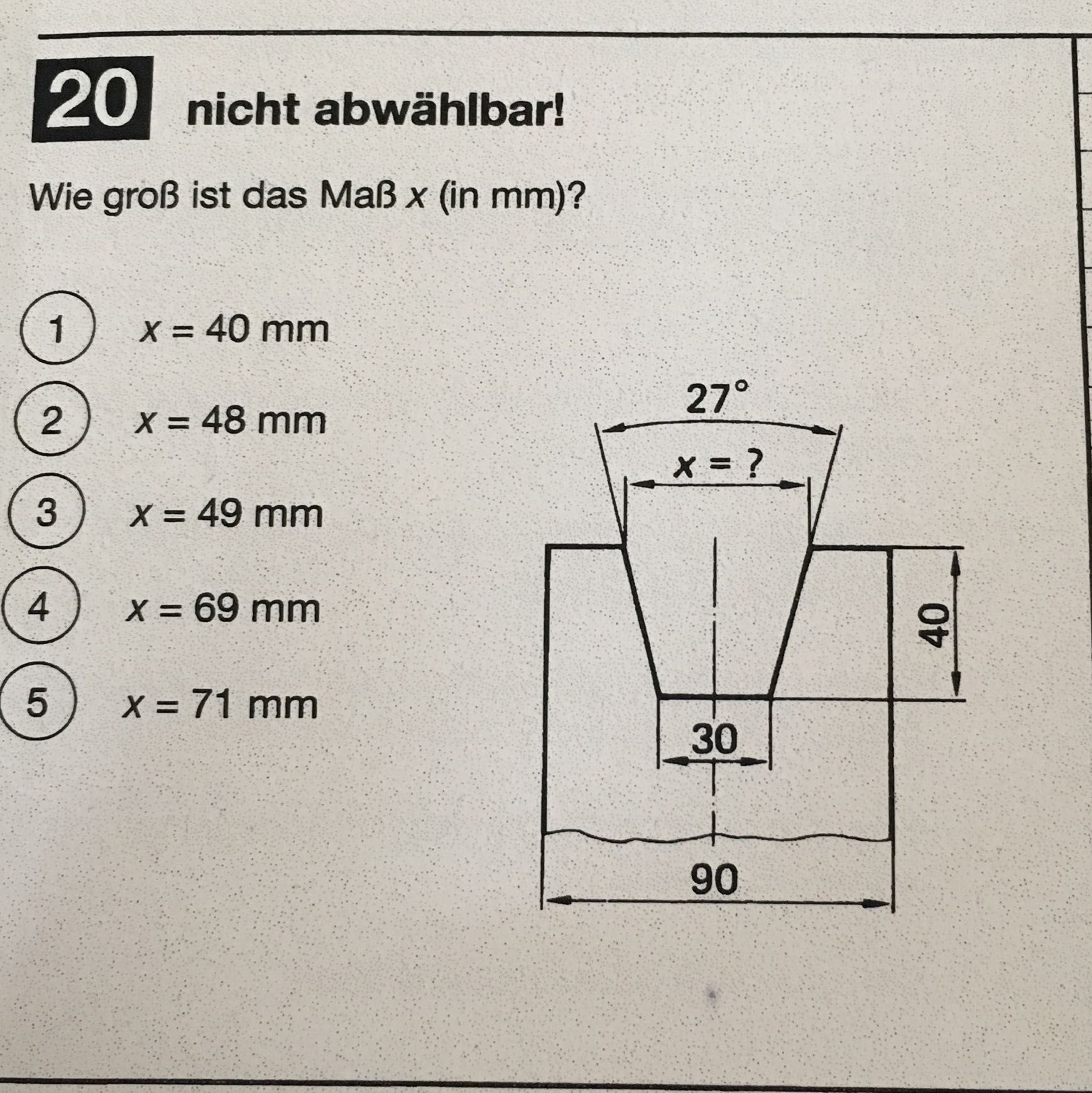 kennt jemand eine formel zur berechnung mathe pr fung. Black Bedroom Furniture Sets. Home Design Ideas