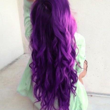 Hier auch Deep purple  - (woher, Haarfärbung, Deeppurple)