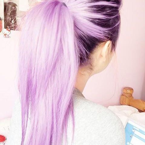 Das würde ich mir auch machen lassen .. helles lila  - (woher, Haarfärbung, Deeppurple)