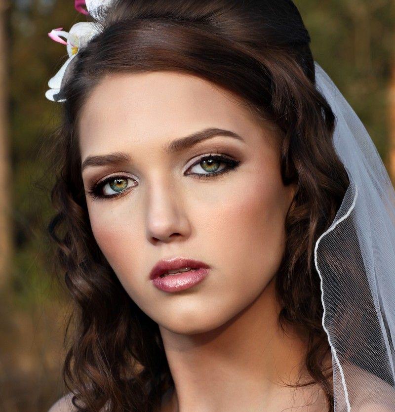 Braut Make Up Blaue Augen Braune Haare Hylen Maddawards Com