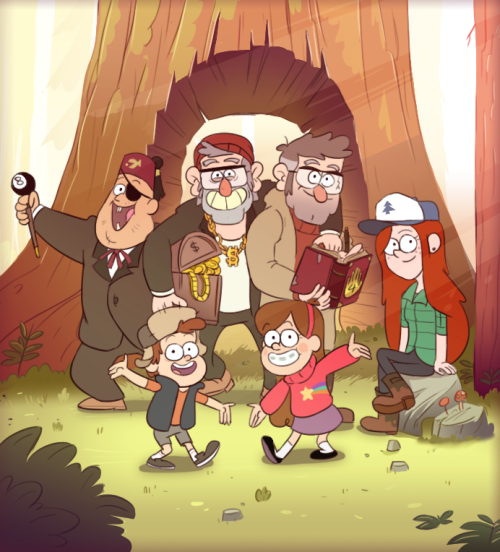 Kennt jemand gravity falls fan for The family room pacifica
