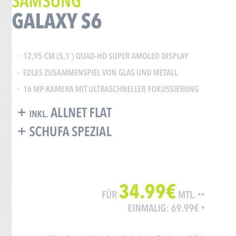 Angebot  - (Smartphone, Samsung, Telekommunikation)
