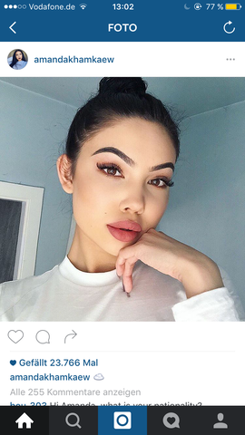 der Lipliner  - (instagram, bekannt, berühmt)