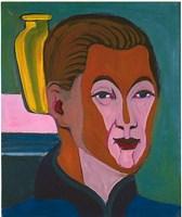 """Kennt sich irgendjemand mit dem Selbstporträt """"Kopf des Malers"""" von Ernst Ludwig Kirchner aus?"""