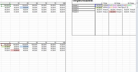 WENN Formel für den Namen - (Excel, Formel, Tabelle)