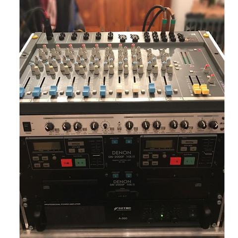 Das ganze Teil  - (Mischpult, Musikanlage, mixer)
