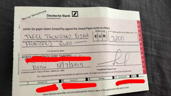 Kann Ein Syrer Konto Bei Deutsche Bank
