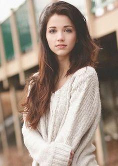 1. Bild - (Mädchen, Model, Schauspielerin)