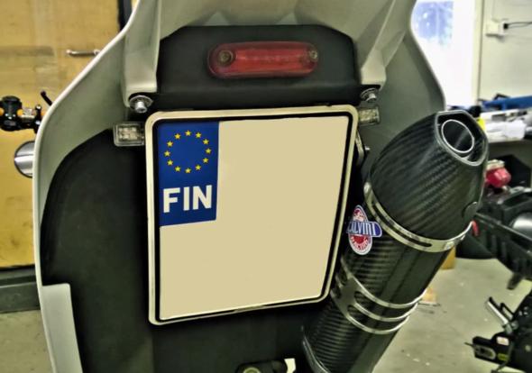 KzH - (Motorrad, Kennzeichen)
