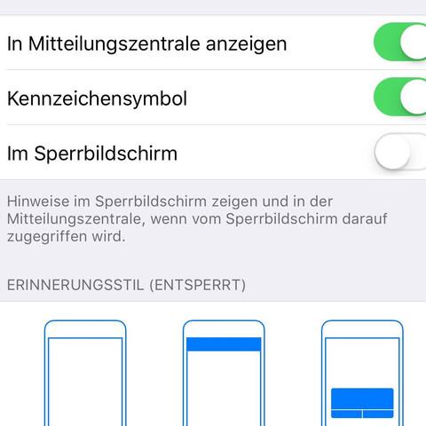 Kennzeichensymbol Iphone