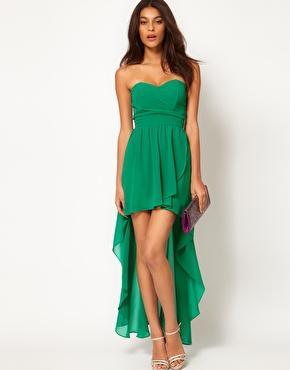 Grünes kleid - Damenmode - einebinsenweisheit