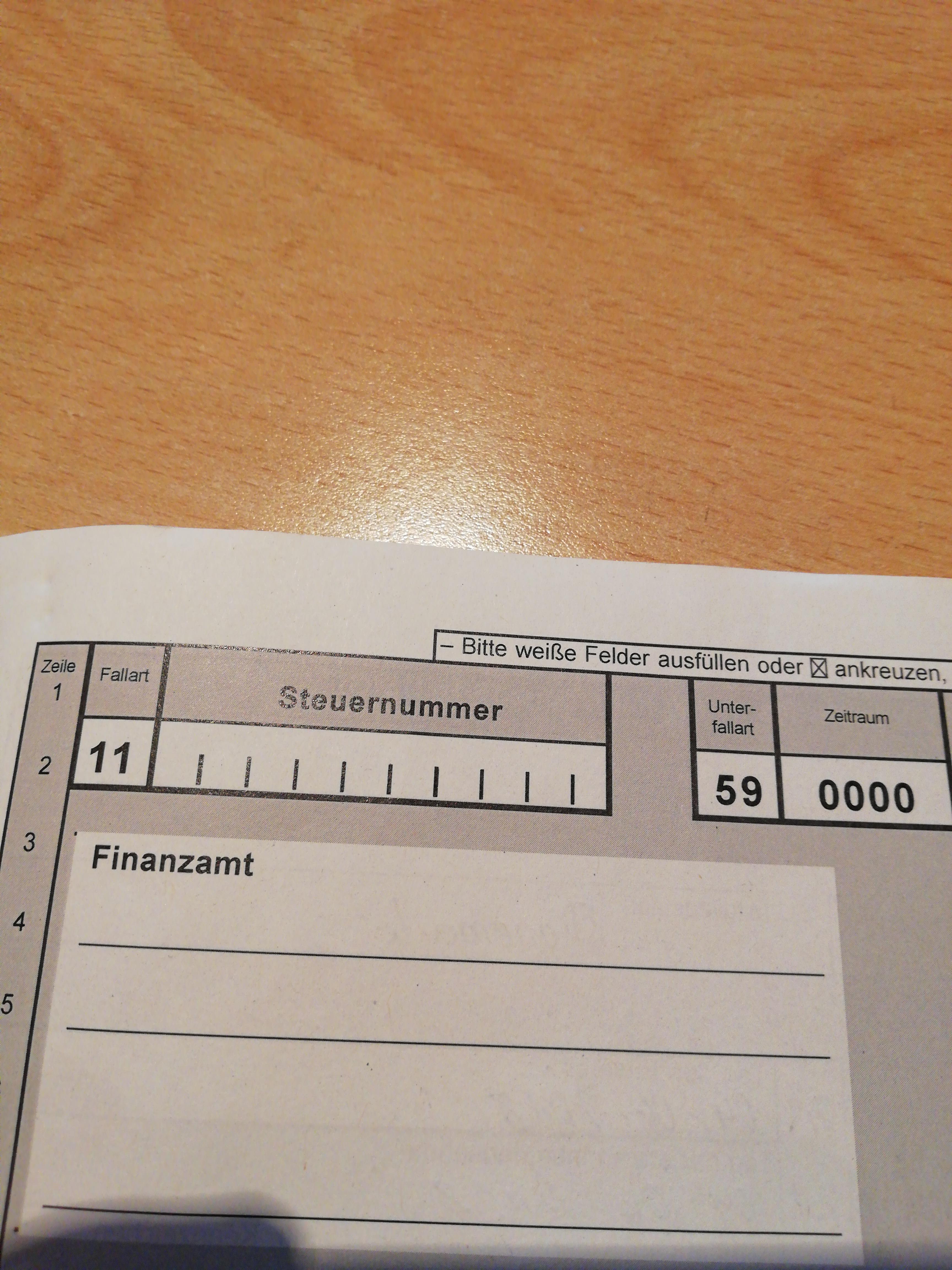 Kfz Steuer. Was soll ich hier machen? (Steuern, Finanzamt, ID)