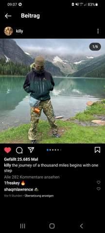Killy Hose Instagram?