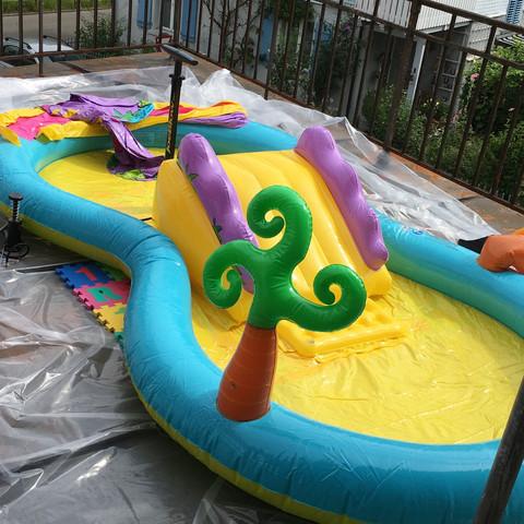 kinderpool ich wollte heute diesen pool aufblasen aber. Black Bedroom Furniture Sets. Home Design Ideas