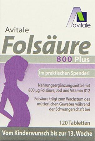 Folsäure - (Gesundheit, Schwangerschaft, schwanger)