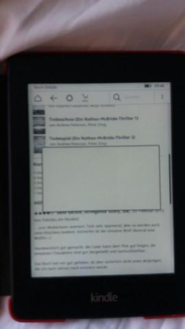 Weißes Fenster kindle - (Kindle, e-book)