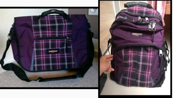 Kann ich als Junge diesen Rucksack benutzen und diese Tasche, oder ist das peinlich?