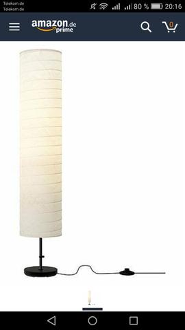 Lampe in Ordnung - (basteln, DIY, Do it Yourself)