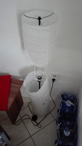 Lampe kaputt - (basteln, DIY, Do it Yourself)