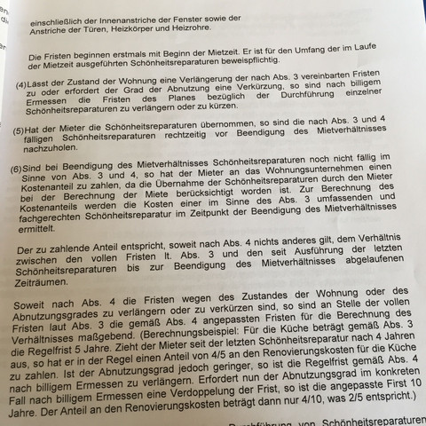 Klausel Wirksam Bei Auszug Recht Kündigung Mietvertrag
